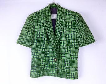 Versus Versace vintage Design short sleeve jacket
