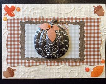 Handmade Card - Autumn