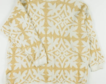 Woman Vintage Recycled 80s Sweater Ref 0016