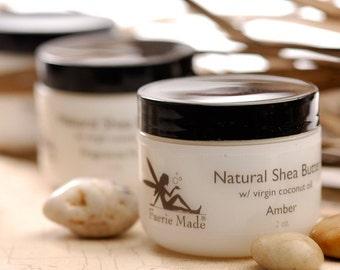 Natural Shea Butter W/ Virgin Coconut Oil Lavender