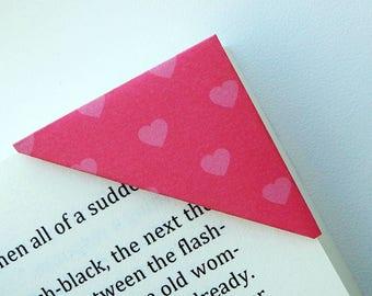 Bookmark - 10 Unique Corner Bookmarks - Book Club Gift - Reader Gift - Book Lover Gift - Gift for Reader - Gift for Women - Bookworm for Her