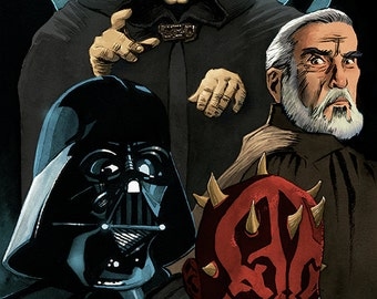 Star Wars - Dark Lords of The Sith: Vader, Palaptine, Maul and Tyrannus