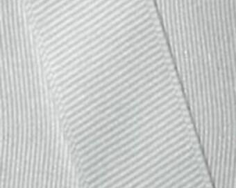 1.5 inch x 50 yds grosgrain ribbon -Silver