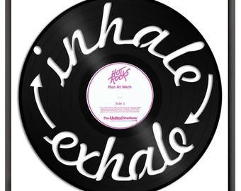 Vinyl Record Art Etsy