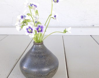 Dark Blue Bud Vase
