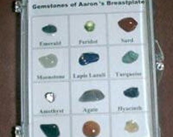 Gemstones of Aaron's Breastplate: Real Stones