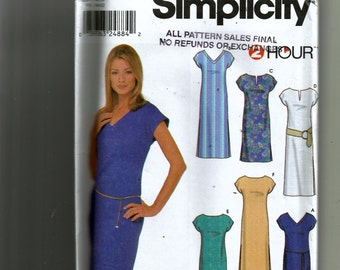 Simplicity Misses' Dress In Two Lengths Pattern 9692