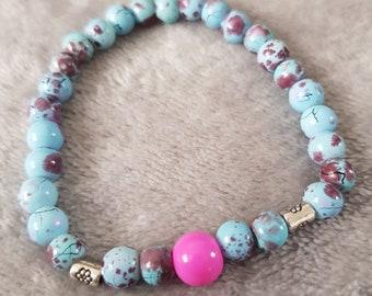 Candy Floss Bracelet