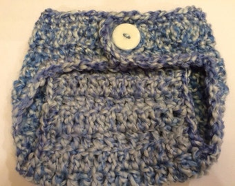 Crocheted Newborn Chunky Diaper Cover