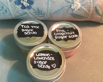 Lemon Lavender Sugar Scrub