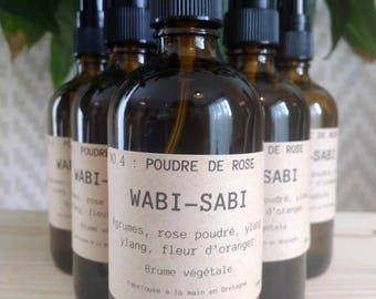Mist vegetable Wabi-Sabi NO.4: pink powder
