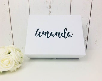 Bridesmaid Gift Box | Bridesmaid Box | Personalised Bridesmaid Box | Rose Gold Bridesmaid | Bridesmaid Proposal | Bridesmaid Thank you | Box