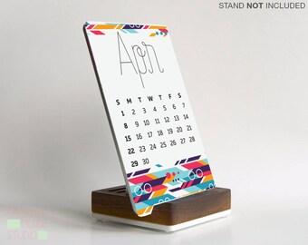 2018 Calendar - Desk Accessory - Office Gift -  Modern Office Decor - Desk Decor - Cute desk accessories - calendar - Cute Decor - Modern