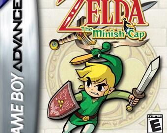 Zelda The Minish Cap Reprogrammed Cartridge