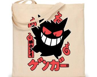 TOTE - Gengar Pokemon Tote Bag