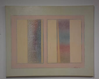 Rodolfo Carlos Signed Abstract Painting