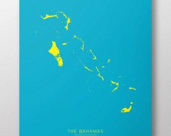 "The Bahamas 14"" x 20"" Print"