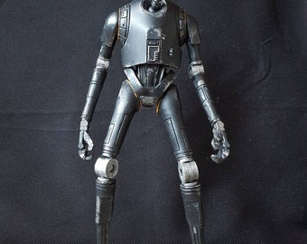 Star Wars K-2SO Custom Collectable with base