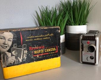 1960's Vintage Kodak Brownie Movie Camera