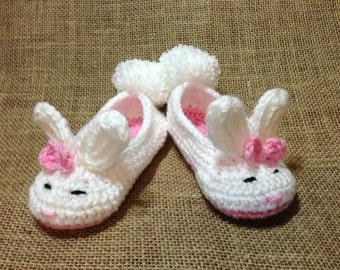 Easter Bunny Slippers, Children's Bunny Slippers