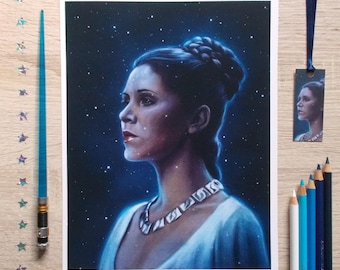 One With The Force - art print
