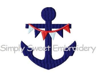 Anchor 2 Mini Machine Embroidery Design