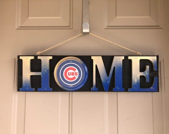 Chicago Cubs | Chicago Cubs Sign | Chicago Cubs Fan | Chicago Cubs Gift | Chicago Cubs Decor