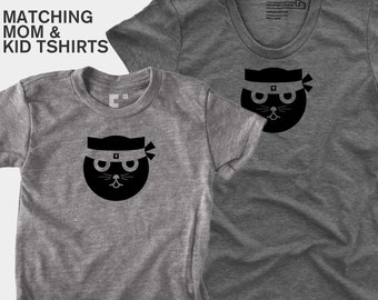 Kung Fu Watson the Cat - Matching Shirts (Women & Kid)