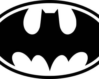 Batman Cornhole Decals (Set of 2)