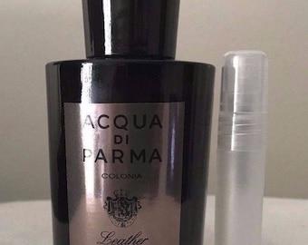 Acqua  di parma colonia leather concentree  5ml sample