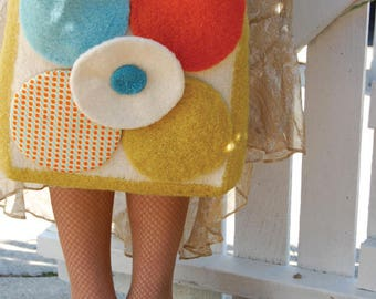 Mod Pod Tote Knitting Pattern