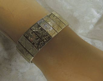 Flexible Bangle Bracelet - Gold Plated Bracelet
