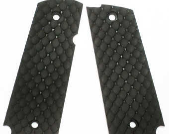 DURAGRIPS - Llama Mini Max Tactical Grips - D FENCE - Black