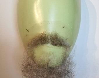 Facial postiche, chin beard and moustache set.LI47