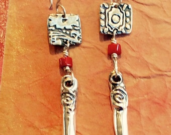 New Mayan Portal Earrings