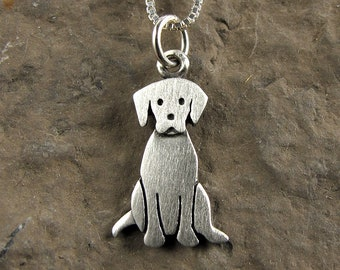 Tiny Labrador retriever necklace / pendant