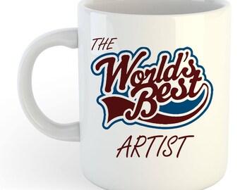 The Worlds Best Artist Mug