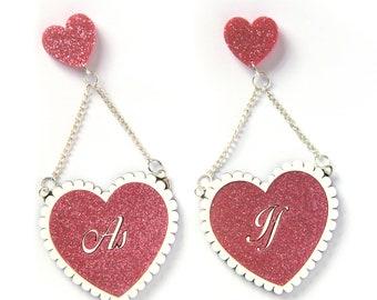 Heartbreaker (Acrylic Earrings)