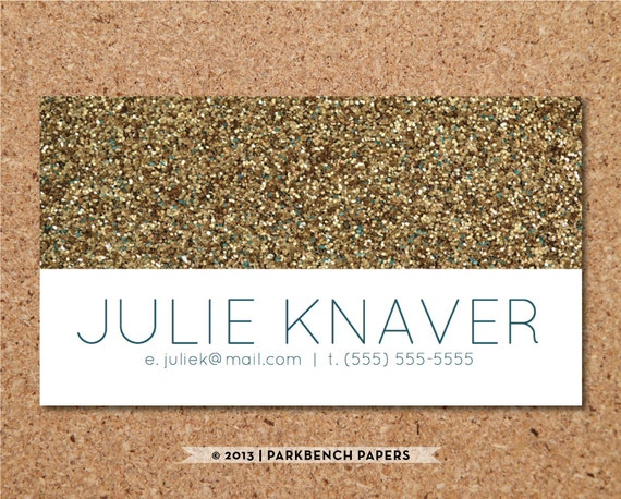 Business card template gold glitter diy editable word reheart Image collections