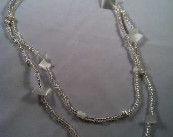 Crystal Necklace - Wrap Necklace - Affordable Beaded Jewelry - Jewelry Gift - Gifts for her - Multi strand bracelet