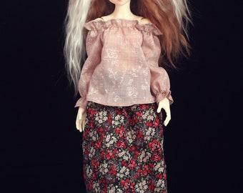 Blouse for SLIM MSD BJD dolls MiniFee