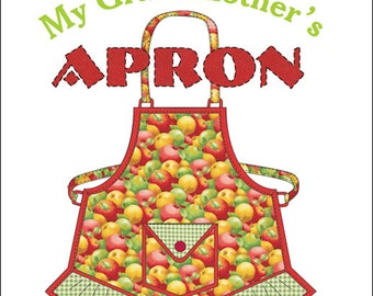My Grandmothers Apron PDF Pattern for Instant Download