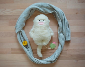 Spieluhr, Snub-nosed monkey, monkey, Organic, Bio, Baby,  jungle, baptism, Baby toys handmade, must-have, Baby girl, Baby toy, softie