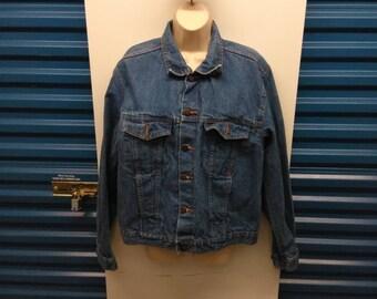 Vintage denim jacket men's medium