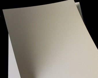 Kraft Cardstock | 8.5 x 11 - Kraft Card stock | Blank Kraft Paper | 50/sheets