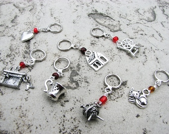 Hearth and Home Non-Snag Stitch Markers