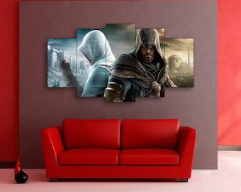 Assassin's Creed wall art, Assassin's Creed canvas, Assassin's Creed print, Assassin's Creed