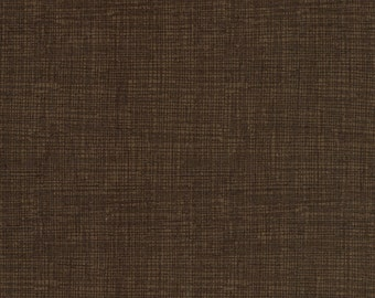 Sketch Fabric - Dark Brown - Coordinating Blender Fabric by Timeless Treasures - C8224 Coffee - Priced by the 1/2 yard