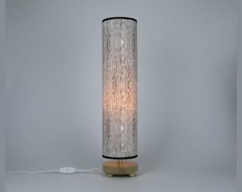 Woodgrain in grey Table Lamp