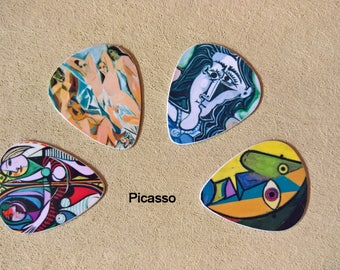 4 Artist Series - 6 different options available., Custom Guitar Pick, Custom Guitar Picks, Personalized Guitar Pick